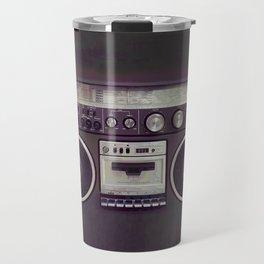 Retro Boombox Travel Mug