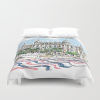 spain Duvet Covers featuring Spain  by Pablo Garcia
