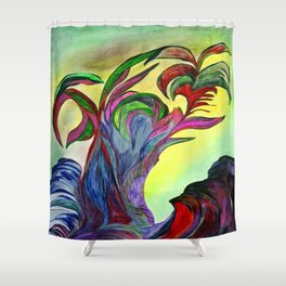 The Island Shower Curtain