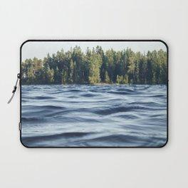 Summer Forest Lake Laptop Sleeve