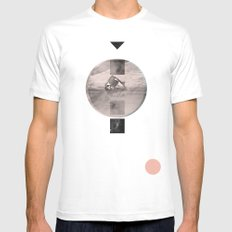 for the stars White Mens Fitted Tee MEDIUM