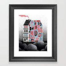 No. 26 Zine - D Framed Art Print