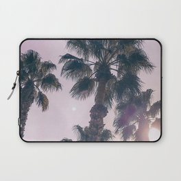 Palm Tree Art Print {2 of 3} | Magenta Pastels Topical Beach Plant Nature Vacation Sun Vibes Artwork Laptop Sleeve