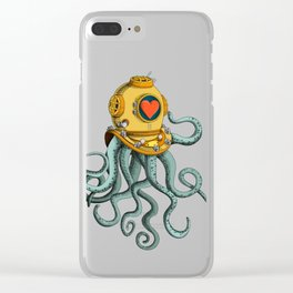 I'm falling in love with you? (right) Clear iPhone Case