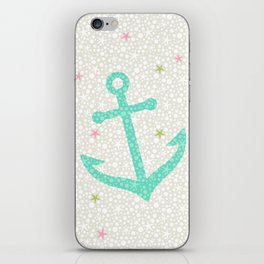 Starfish Anchors - Pearl iPhone Skin