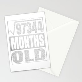 26 Years Old - 26th Birthday Vintage Retro Gift Stationery Cards