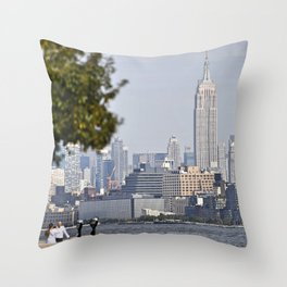 The Perfect Spot Throw Pillow