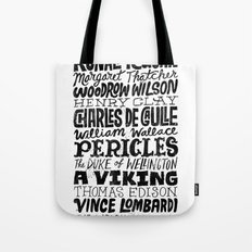 Newt Gingrich's Self Comparisons Tote Bag