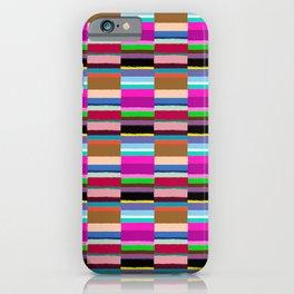 Tribal Stripe Kilim in Multi iPhone Case