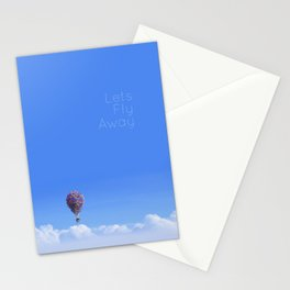 Let's Fly Away- Disney Pixar's Up House Stationery Cards