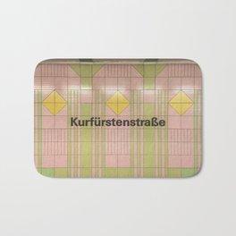 Berlin U-Bahn Memories - Kurfürstenstraße Bath Mat