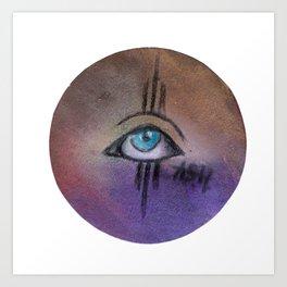eye only Art Print