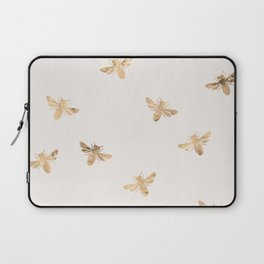 Busy Bees (Sand) Laptop Sleeve