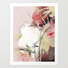 pink splendor Art Print