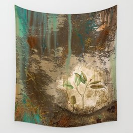 Magnolia In The Forest Wall Tapestry