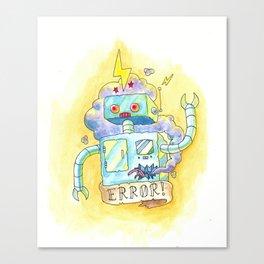 Error! Canvas Print