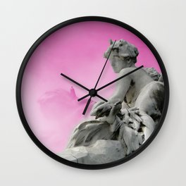 Paris Basin, Dream your life in color Wall Clock