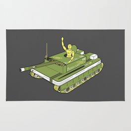 The Art of War Rug