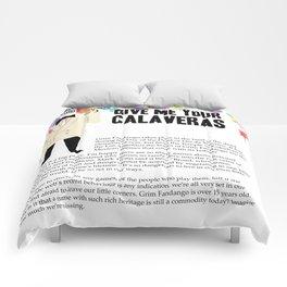 Give me your Calaveras | Grim Fandango | Editorial Comforters