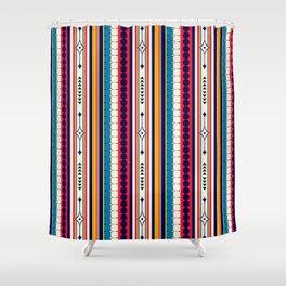 Retro Bohemian Hippie Festival  Shower Curtain