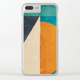 Regata al Tramonto Clear iPhone Case
