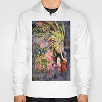 fireworks Hoodies featuring Fireworks by Icel