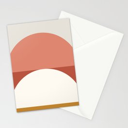 Abstract Geometric 01B Stationery Cards