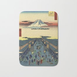 Ando Hiroshige  -  Suruga Cho Bath Mat