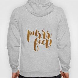 purrrfect! (golden) Hoody