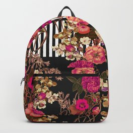 Floral Crossing Backpack