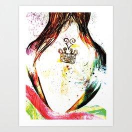 Hidden Effort Art Print