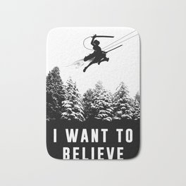 I want to believe, Attack on Titan Bath Mat