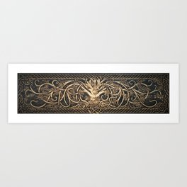 Ygdrassil the Norse World Tree Art Print