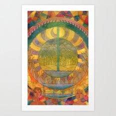 Days of Creation Art Print