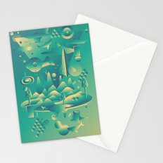 Geometromorphic Dream Stationery Cards