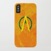 aquaman iPhone & iPod Cases featuring Aquaman by Some_Designs