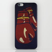 boxing iPhone & iPod Skins featuring Power Boxing by Lucas Scialabba :: Palitosci
