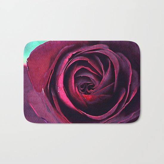 Vintage roses(5). Bath Mat