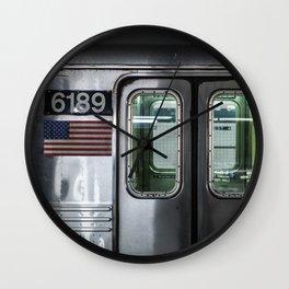 New York City Subway Wall Clock