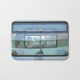 Multi plans window Bath Mat