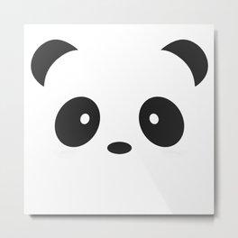 Panda Paul Metal Print