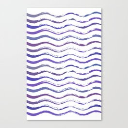 Ultraviolet waving Canvas Print