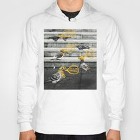 gangster Hoodies featuring Gangster Pigeons by Wonder of Wild