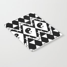 Prismatic Yin & Yang Notebook