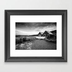 Iceland Shacks Framed Art Print