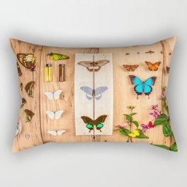 Butterfly Collector Rectangular Pillow