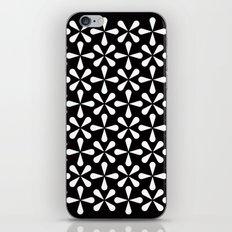 Asterisks pattern iPhone & iPod Skin