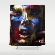 Beneath The Shower Curtain