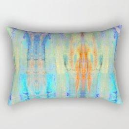 Aqua Crush Rectangular Pillow