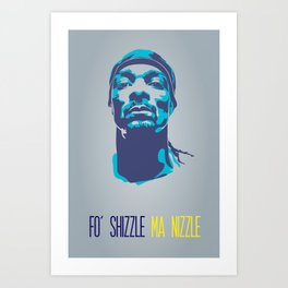 Snoop Dogg Poster Art Art Print